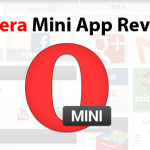 Opera Mini Mobile Web Browser App Review