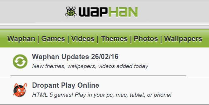 Waphan – Free Games | Music | Videos | Apps | Download