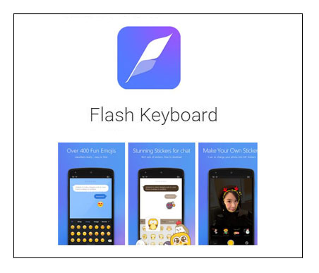 Flash Keyboard App – Android Devices