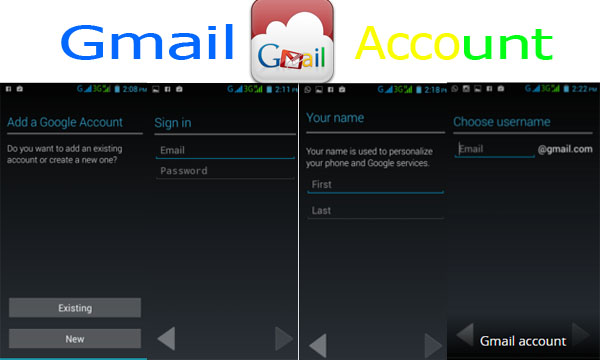 Gmail Account Sign in – Login with Android Mobile Device