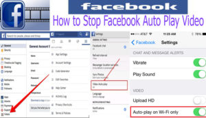 How to Stop Facebook Auto Play Video