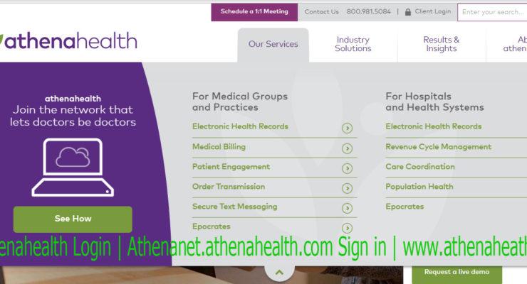 Athenahealth Care – Athenahealth login | www.athenahealth.com EHR