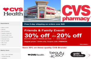 www.cvs.com - Online Drugstore | Pharmacy | Minute Clinic