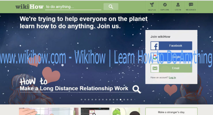 www.wikihow.com – Wikihow | Learn How to Do Anything