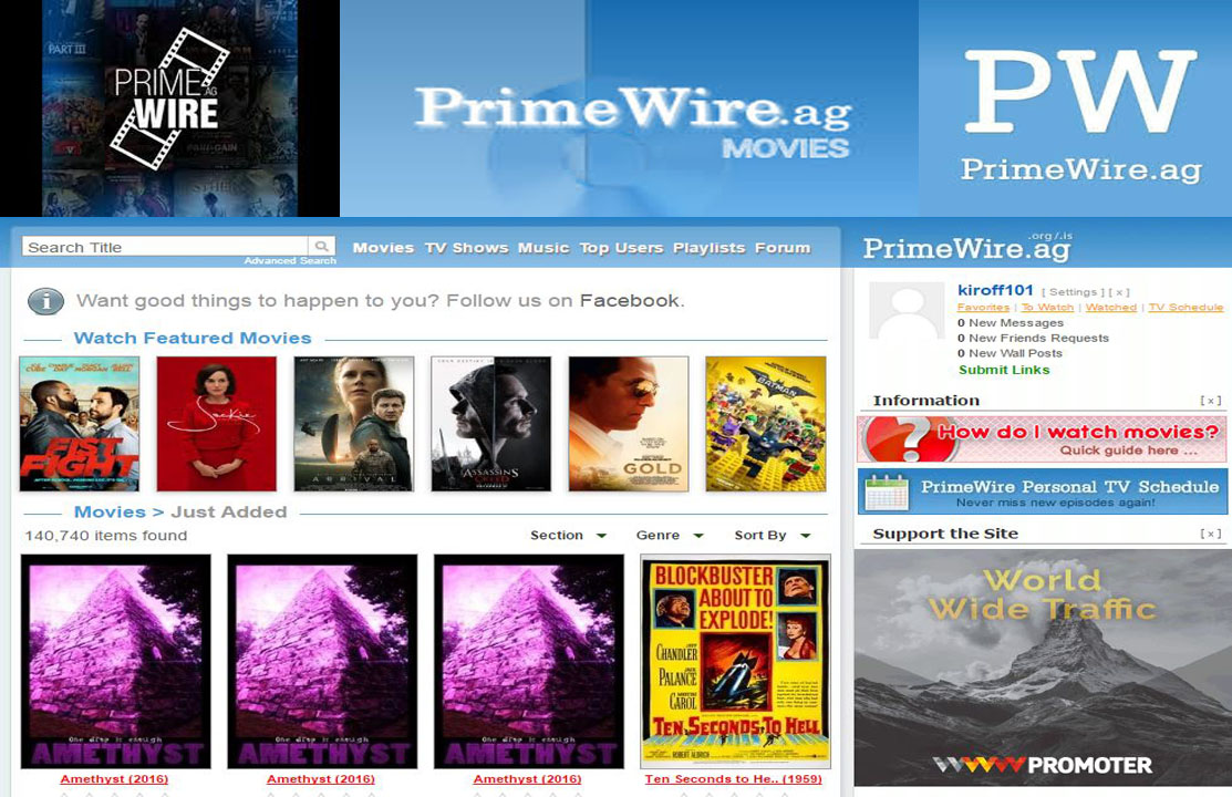 how to watch movies on primewire