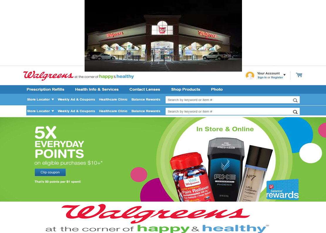 For use by Walgreen Co., its subsidiaries and other authorized users.