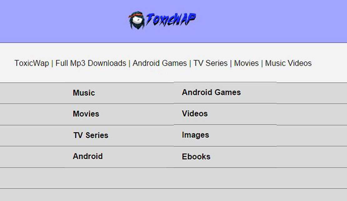 Toxicwap Com Full Mp3 Downloads Android Games Tv Series