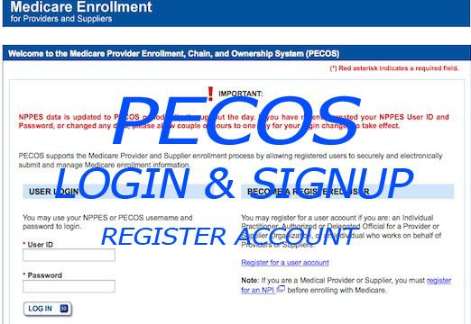 PECOS Login - Online Medicare Provider | Access