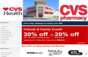 www.cvs.com – Online Drugstore | Pharmacy | Minute Clinic