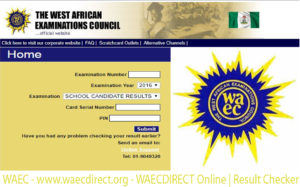 WAEC – www.waecdirect.org – WAECDIRECT Online | Result Checker