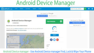 Android Device manager – Use Device manager Find, Lock & Wipe Phone