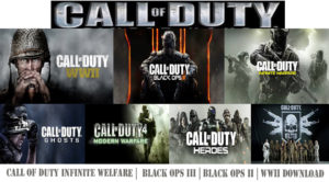 Call of Duty Infinite Welfare |  Black Ops III | Black Ops II | WWII Download