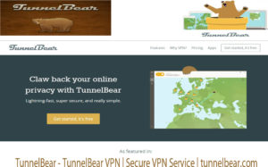 TunnelBear – TunnelBear VPN | Secure VPN Service | tunnelbear.com