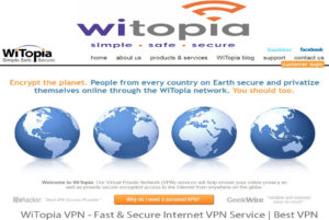WiTopia VPN – Fast & Secure Internet VPN Service | Best VPN