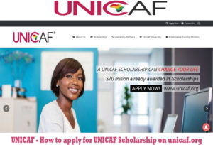 UNICAF – How to apply for UNICAF Scholarship on unicaf.org