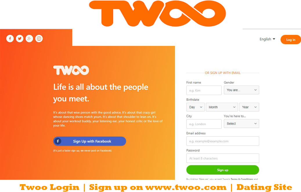 Www twoo com dating site