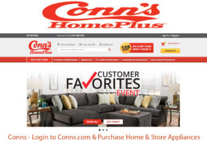Conns – Login to Conns.com & Purchase Home & Store Appliances