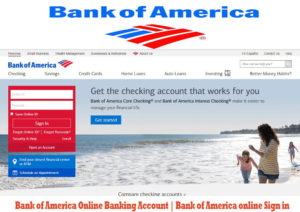 Bank of America Online Banking Account | Bank of America Online Sign in