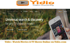 Yidio – Watch Movies & TV Shows Online on Yidio.com