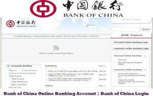 Bank of China Online Banking Account | Bank of China Login