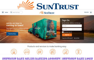 SunTrust Bank Online Banking Account | SunTrust Bank Login