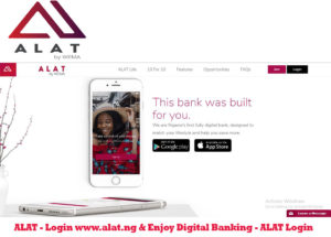 ALAT - Login www.alat.ng & Enjoy Digital Banking - ALAT Login
