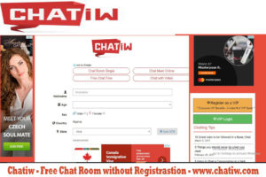 Chatiw - Free Chat Room without Registrastion - www.chatiw.com