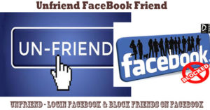 Unfriend – Login Facebook & Block Friends On Facebook