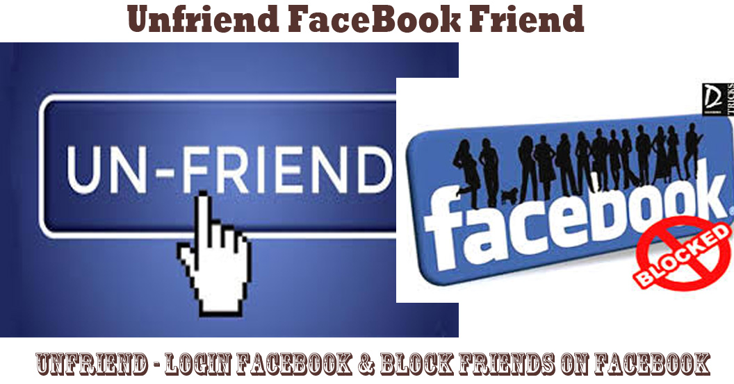 how to block or delete friends on facebook