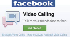 Facebook Video Calling – How to Activate Facebook Video Calling
