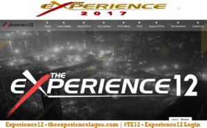 Experience12 - theexperiencelagos.com | #TE12 - Experience12 Login