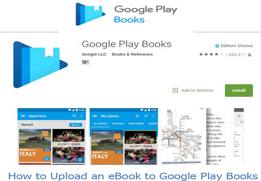 Google Play Books - How to Upload an eBook to Google Play Books