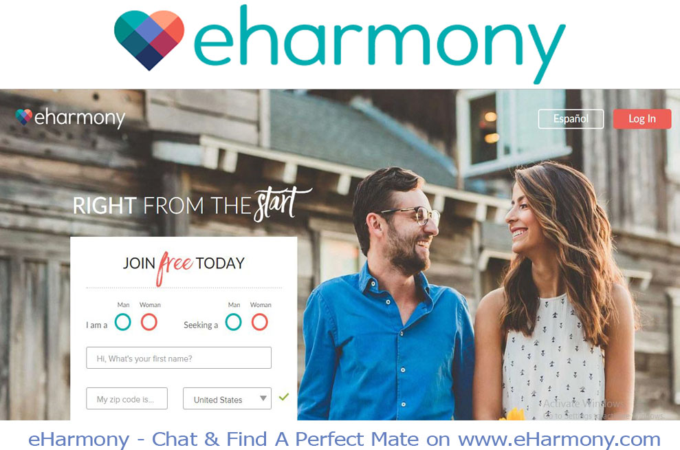 eHarmony - Chat & Find A Perfect Mate on www.eHarmony.com