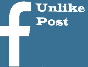 How to unlike a post comment and pages on Facebook