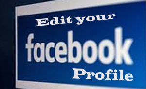 Edit your Facebook Profile