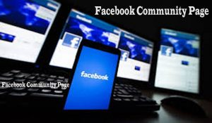Create a Facebook Community Page