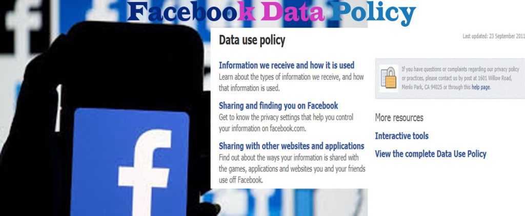 Facebook Data Policy