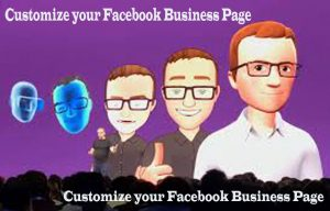 Customize your Facebook Business Page