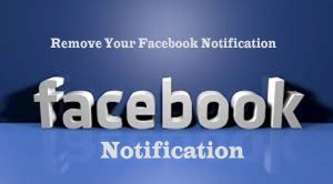 Remove your Facebook Notification