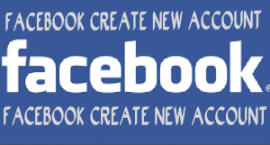 Facebook Create New Account