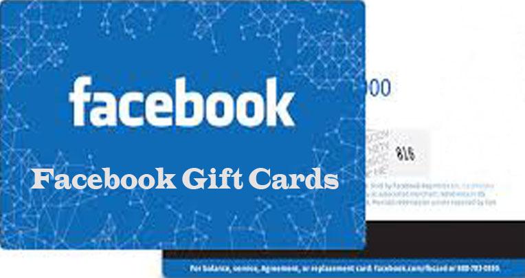 Facebook Gift Cards