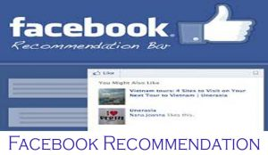 Facebook Recommendation - How to Activate Facebook Recommendation
