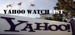 Yahoo Watchlist - How to Access and Use Yahoo Watchlists