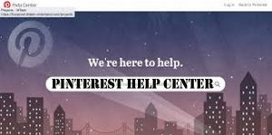 Pinterest Help Center - Accessing The Pinterest Help Center