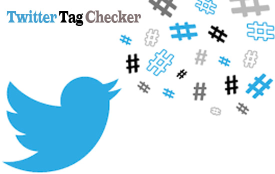 Twitter Tag Checker