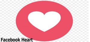 Facebook Heart - Facebook Emojis - Facebook Reactions