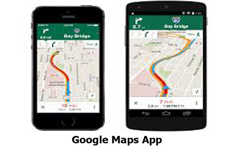 Google Maps App - How to Use the Navigation Feature on Google Maps App