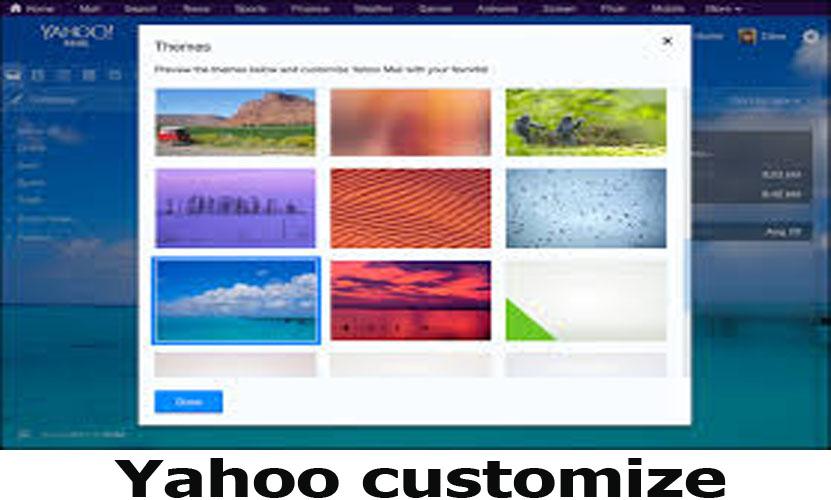 Yahoo customize - Using Yahoo Customize In Your Yahoo Mail