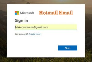 Hotmail Email Sign In
