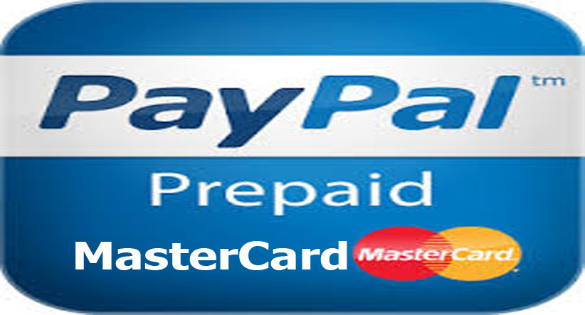 PayPal Prepaid MasterCard | Makeover Arena